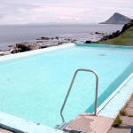 Heaven! A  hot (geothermal) Icelandic pool.