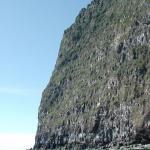 The cliffs became higher…