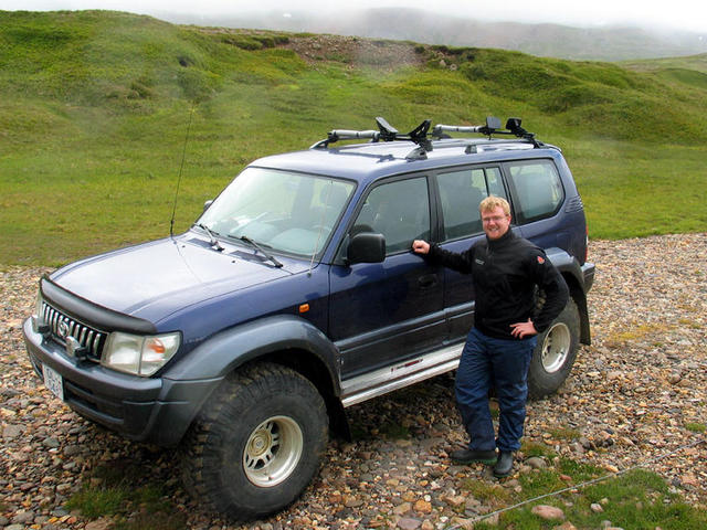Palmi, a local kayaker, took us for a day of offroading, Iceland style.
