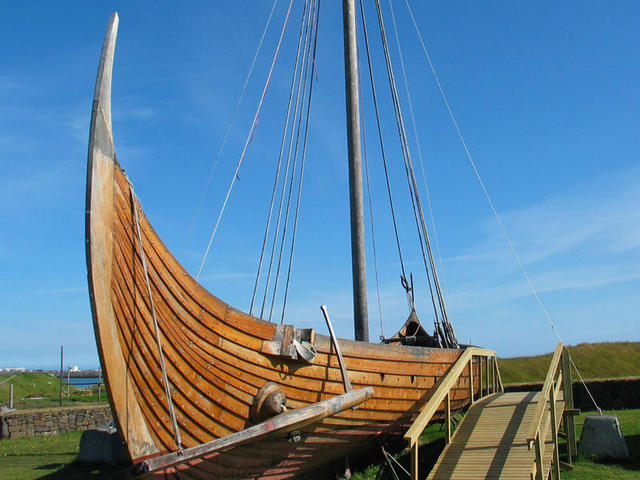 Reconstructed Viking Ship, Islendingur (the Icelander). Sailed to New York.