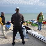 Chatting with paddling buddy Cliff (CliffJumps)