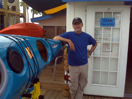 Russell Farrow of Sweetwater Kayaks
