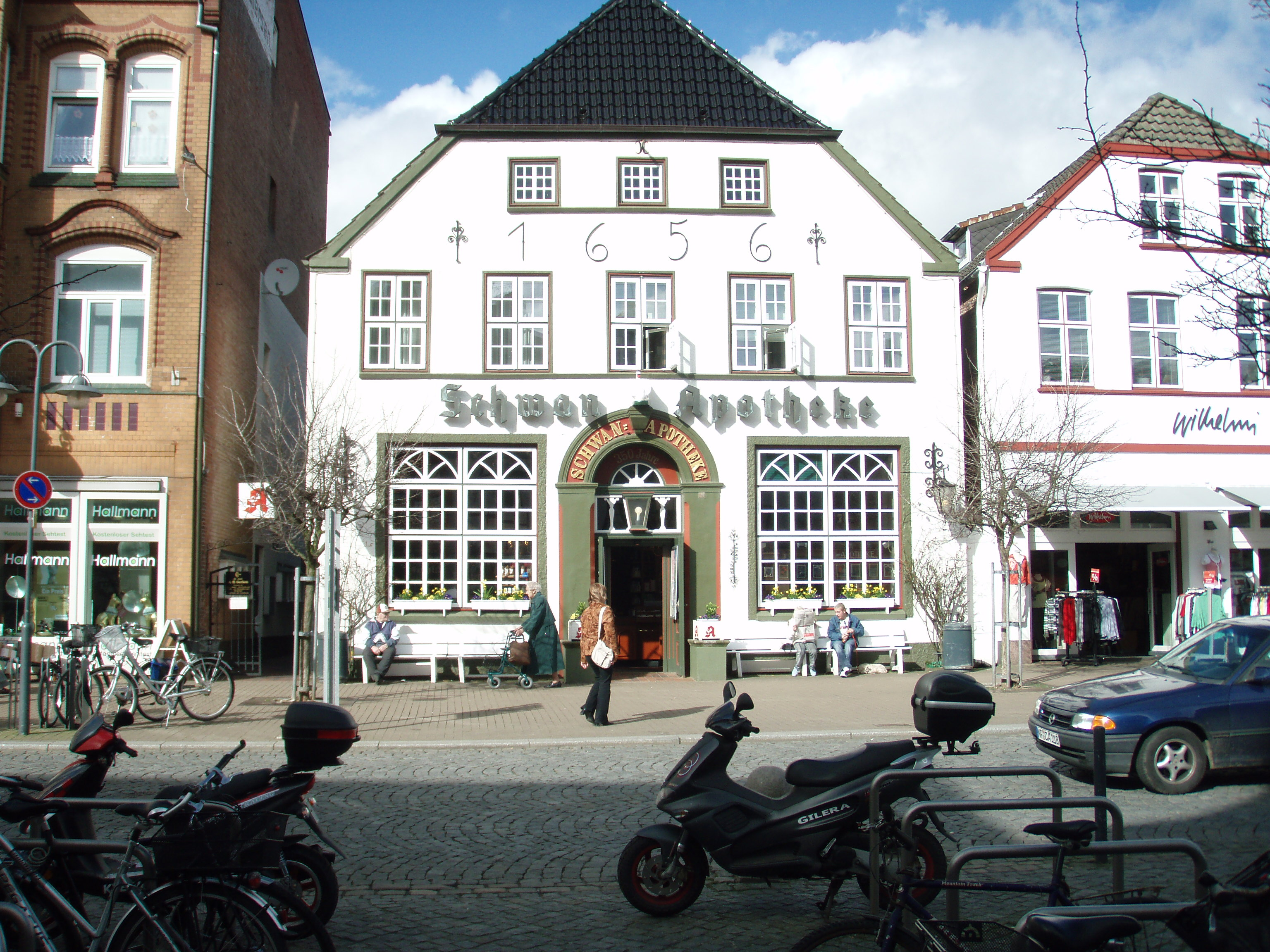The old apothecary in Husum, Germany